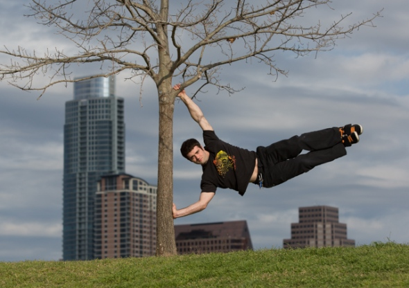 Josh Vinyard - Downtown Austin Breakdancer